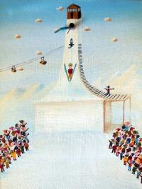 Ski skok o´clock